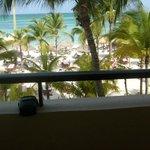 Balcony view - Deluxe Ocean Front.