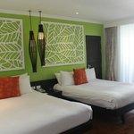 Номер 2 Bedroom Premium Suite at Tropicale, плохо работал кондиционер, нет плазмы простой телик.