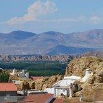 Landschaft um Guadix vom Mirador aus