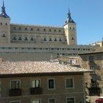 Edificio del Alcázar de Toledo.