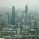 Вид со смотровой площадки телебашни Гуанчжоу