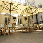 Hidden Courtyard for al fresco dining