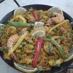 Paella hmmmm ;)