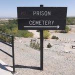 Prison cemetery.
