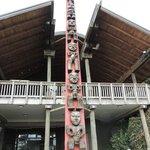 Totem Pole Maori People