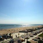 Spiaggia vista dall'alto