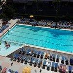 Daytime pool view