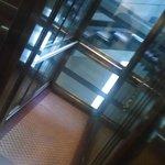 The narrow elevator