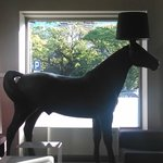 The horse lamp