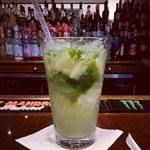 Mojito at the lobby bar