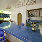 Kitchenette in apartment with open plan dining kenyaways