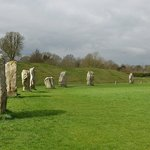 Avebury, a surprise for us from Michael Osborne