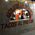 Great Tacos Al Pastor in Tulum
