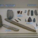 Diferentes puntas de flechas y lanzas Neolítico.