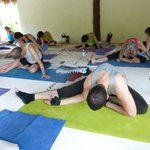 General yoga class.