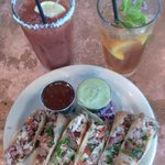 Texas Rolls with SPICY Bloody Mary, and Sweet Tea