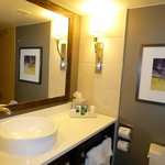 Junior suite bathroom