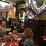 180th Birthday Party at Pizzeria Regina's