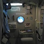 Space Station private/sleeping quarters