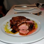 Rare Baked Duck Breast