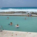 Beach area 2011, Salt water pool