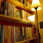 one of the bookshelves