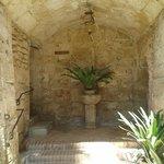 Entrance to the bath house