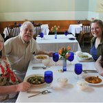 Pam, Eldon, Sydney, & Lindsey Everhart (L-R)
