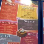 Would you like to get an idea if what's on the menu before you go?
