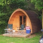 Another view of the pod...small & perfectly formed!
