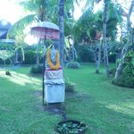 Ganesha just before the pool