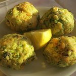 Zucchini Balls/Fritters with Cheese