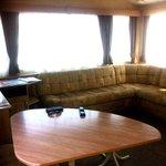 Lounge area van 67