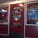 Entrance to Lucille's Smokehouse BBQ Tustin, CA