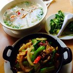SEAFOOD PHO and CLAY POT