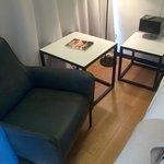 Stylish corner in the room