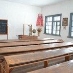 une ancienne école au musée pyrogovo