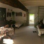 La salle de vie de notre 'chambre' individuelle