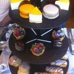 Sweet and cakes trays