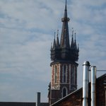 Beautiful tower of Mary's church