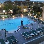 Schoonmaak van het zwembad