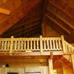 Large loft bedroom
