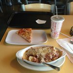 lasagne and pizza