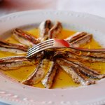 Anchovies marinated in lemon *must try*