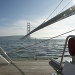 Heading for the Golden Gate Bridge on the Hasty Heart