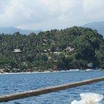 Coco beach vue de la mer