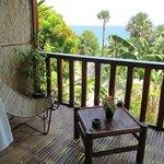 Balcon du bungalow Hilltop