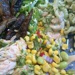 Salad variety was amazing!