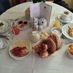 Desayuno a la habitacion!!!