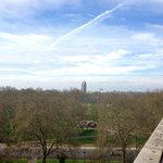 Hyde Park - view from the balcony